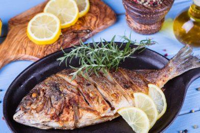 A melhor receita de peixe assado
