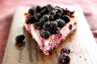 Torta de amora deliciosa