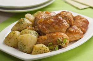 Receita de filé de frango com batata