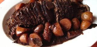 Receita deliciosa de carne assada na panela