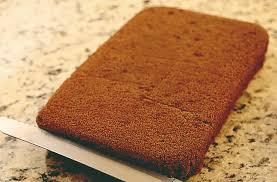bolo pão de ló de chocolate