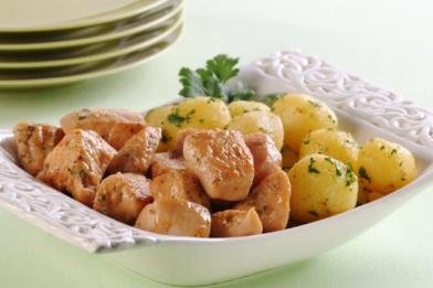 Receita de filé de frango com batata deliciosa