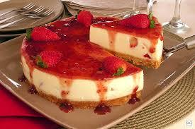 Receita de cheesecake tradicional