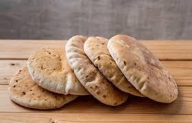Delicioso pão sírio receita simples