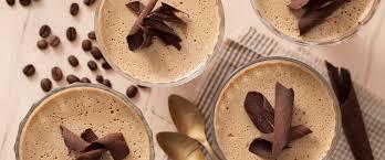 Receita de mousse de café cremoso