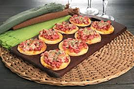 Receita fácil de massa de mini pizza