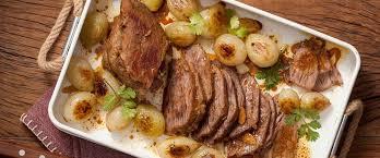 Receita de carne assada suculenta