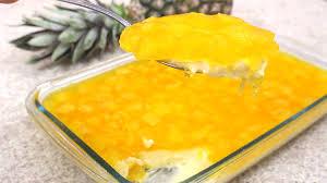 Receita com abacaxi - sobremesa simples e fácil