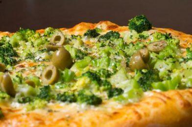 A melhor pizza de brócolis