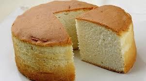massa de pão de ló