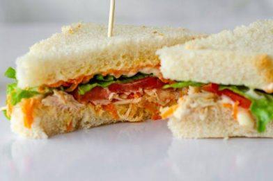 Receita deliciosa de sanduíche natural simples