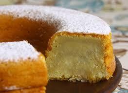 Receita simples de bolo de batata doce