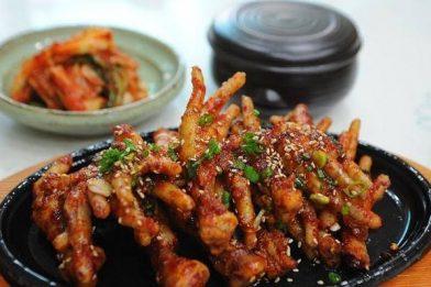 Receita deliciosa de pé de galinha