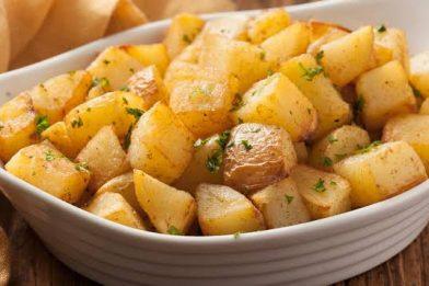 Batata saute fácil e delicioso