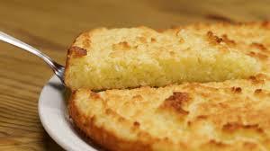 Receita de bolo de aipim simples