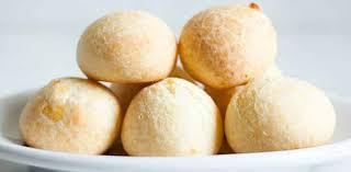 Receita de pão de queijo 3 ingredientes