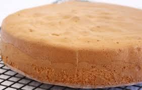 Deliciosa massa de pão de ló simples