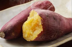 Batata doce no microondas