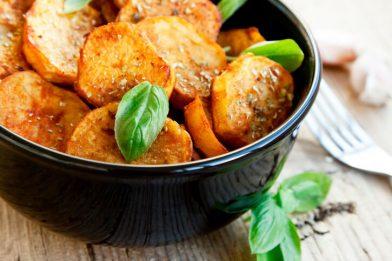 Como fazer batata doce assada simples e delicioso