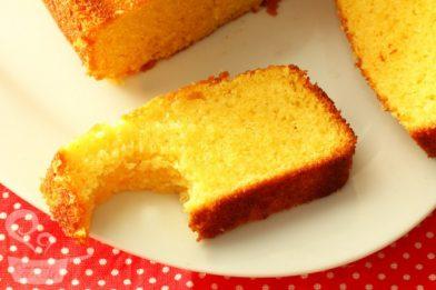 Delicioso bolo de cenoura com maizena