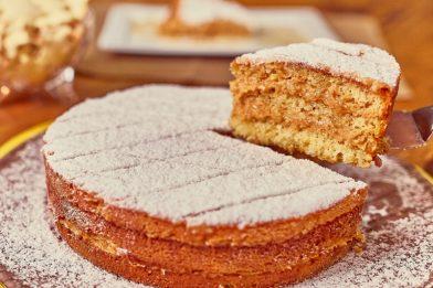 O mais simples bolo bem casado