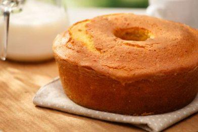 Receita de bolo caseiro simples