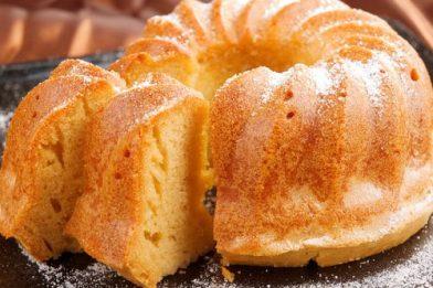 Receita simples de bolo de nada