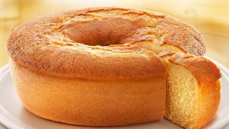 bolo de farinha de trigo de liquidificador
