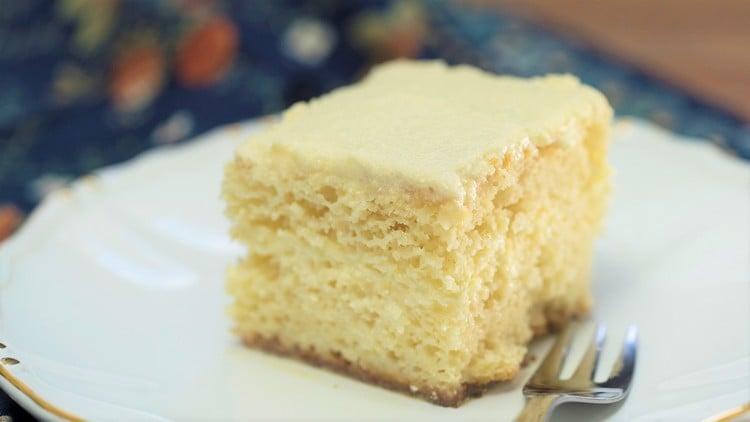 bolo de leite em pó