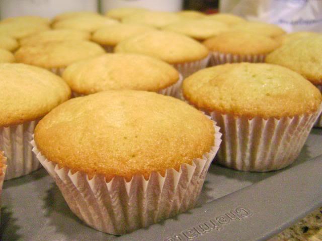 massa de cupcake