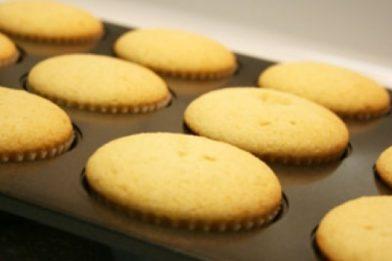 Massa de cupcake deliciosa e simples
