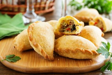Receita de empanada prática e deliciosa