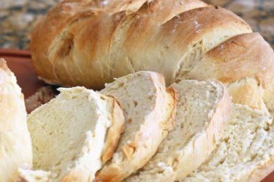 Prático e fofinho pão caseiro simples