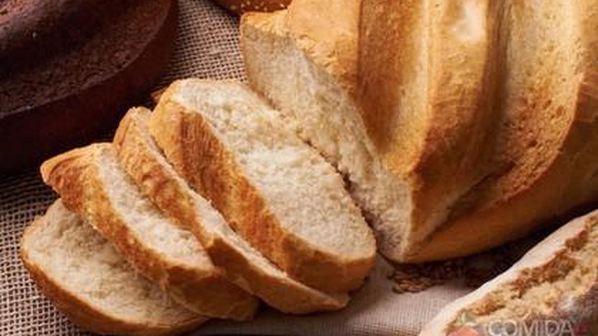 pão caseiro simples