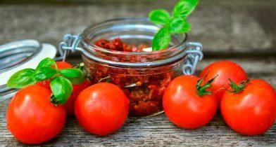 Passo a passo de tomate seco caseiro