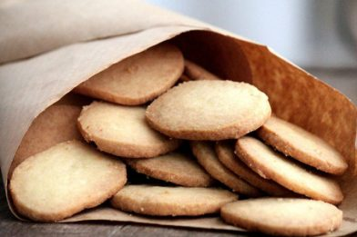 Receita fácil de biscoito de farinha de trigo