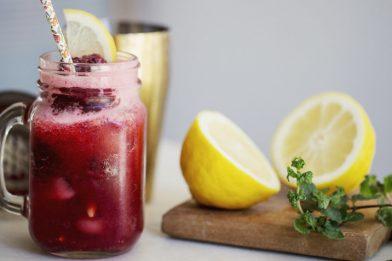 O melhor suco natural de groselha com limão