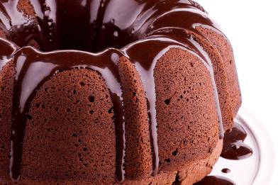 O melhor bolo de chocolate simples