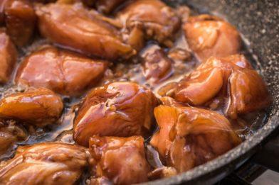 Receita de frango caramelizado