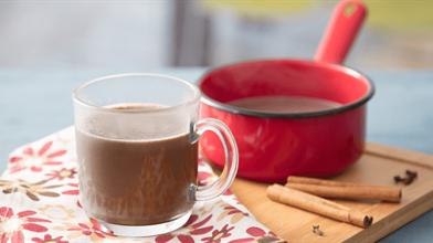 Chocolate cremoso com leite em pó