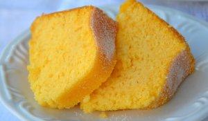 Receita fácil de bolo de manga muito gostoso