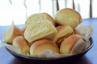 Pão de leite ninho muito simples