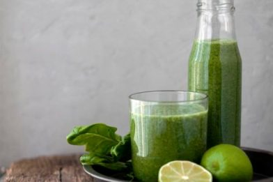 Suco verde detox simples e rápido