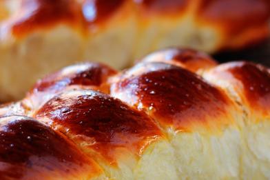 Pão doce caseiro fofinho